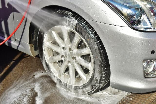 洗車風景の画像